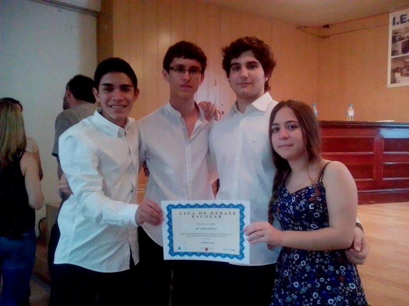 Ganadores de la Liga de Debate BBVA (fase provincial)