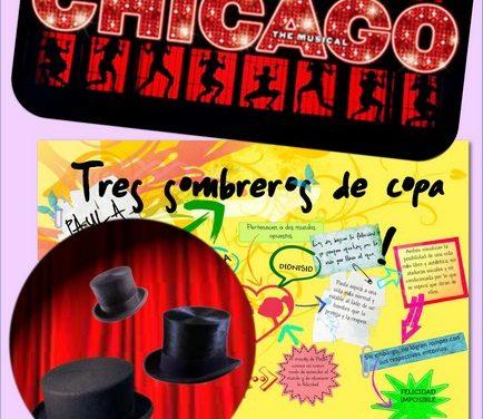"""Actuaciones del grupo de teatro del IES: """"Chicago"""" y """"Tres sombreros de copa"""""""
