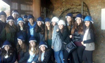 Visita de los alumnos de 1º Bachillerato CCSS a la Mina Agrupa Vicenta