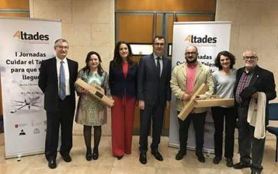 """Premio """"José Echegaray"""" para el profesor Antonio Luis Pérez Ortiz (Geografía e Historia)"""