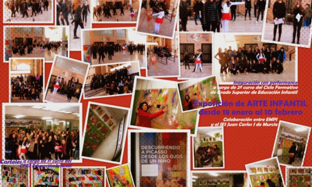 Exposición de Arte Infantil. Colaboración con EMPI