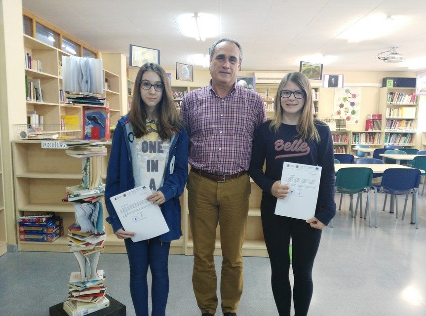 Alumnas finalistas en la XXVIII Olimpíada Matemática de Secundaria
