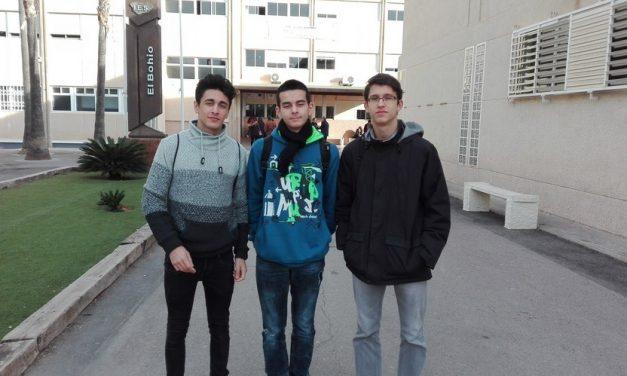 Alumnos participantes en la XXVIII Olimpíada Matemática «Memorial Francisco Ortega»