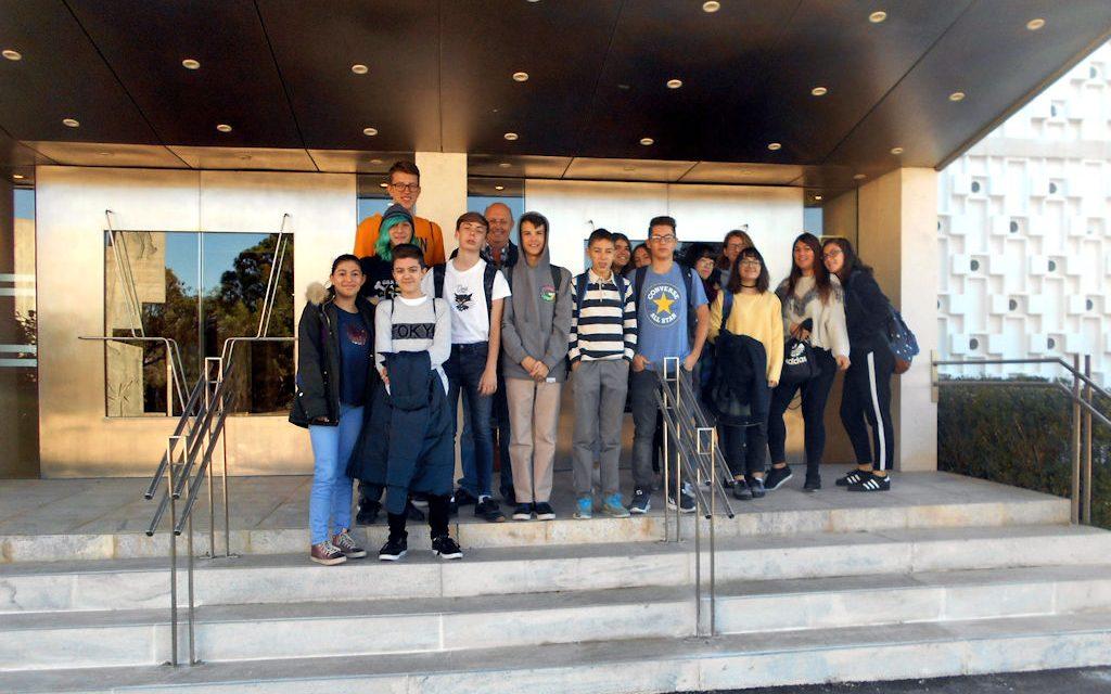 Alumnos de 3º ESO visitan la Casa del Agua