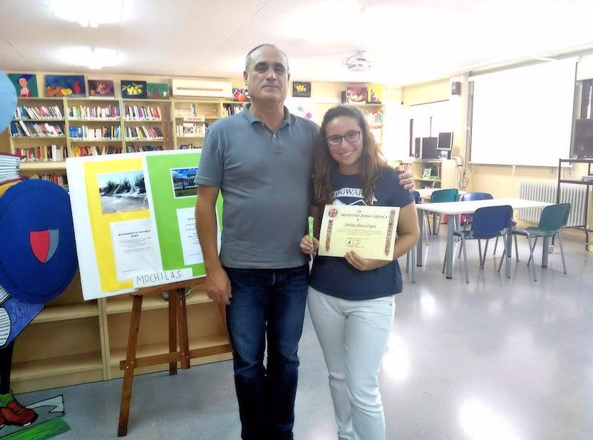 Premios extraordinarios de E.S.O. de la Región de Murcia 2015-2016