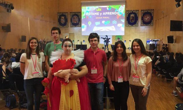 """Notable actuación de nuestros alumnos en la gran final del Concurso """"Rétame y aprendo""""-2017"""