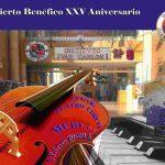 Concierto Solidario con motivo de la celebración del XXV Aniversario