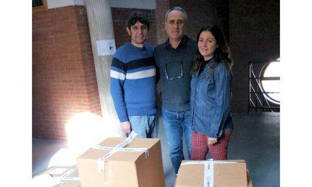 Donación de equipos al centro por parte de Repsol