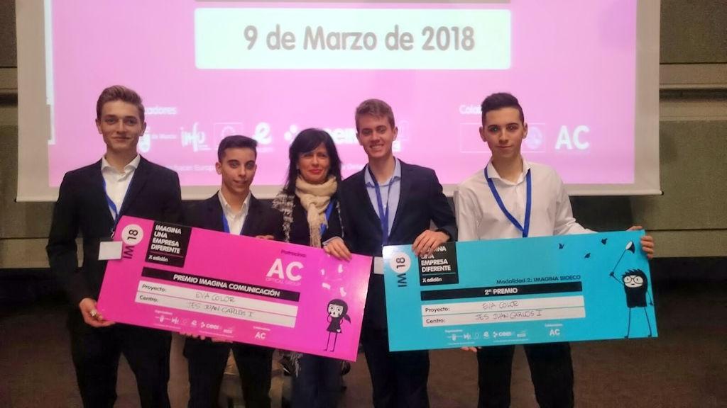 Premios en el concurso «Imagina una empresa diferente» – 2018