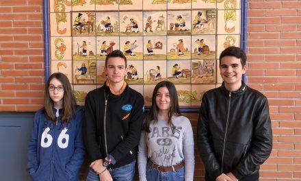 Cuatro alumnos del IES Juan Carlos I van a las finales de Rétame y Aprendo