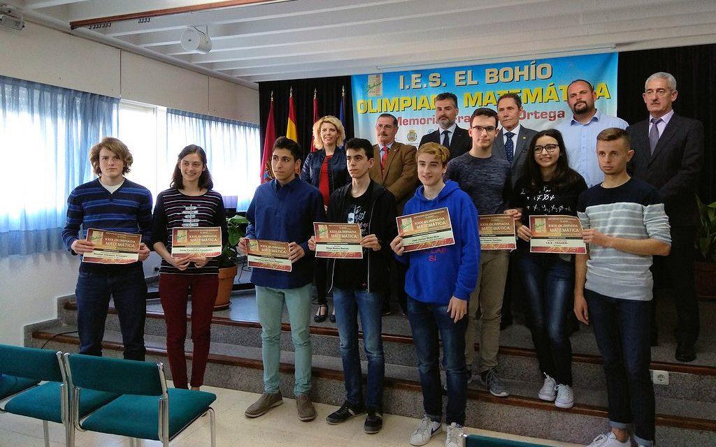 """Nicolás Colchero, segundo premio en la XXIX Olimpíada Matemática del IES """"El Bohío"""""""