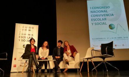 Nuestro equipo de mediación participa en el I Congreso Nacional de Convivencia Escolar y Social