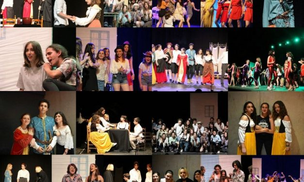 Éxito absoluto del grupo de Teatro Callejeros, del IES Juan Carlos I: «Mamma mia» y «La Celestina»