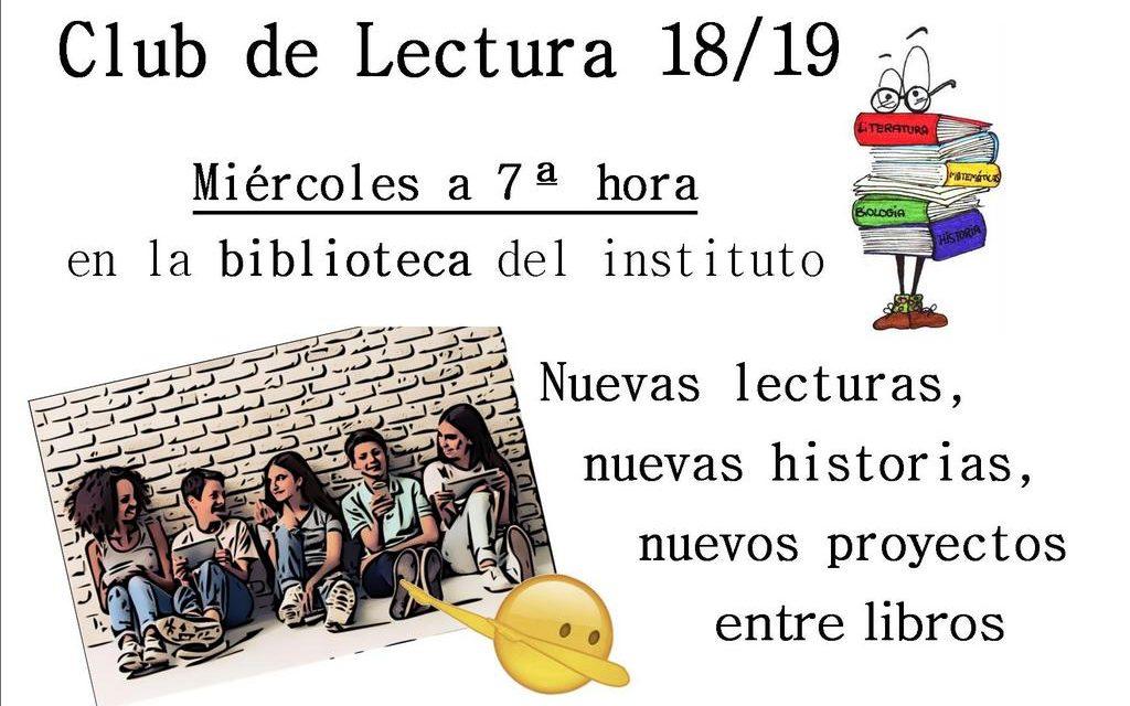 Club de Lectura 2018-19