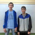 Dos premios para alumnos del IES Juan Carlos I en la Olimpiada Matemática Española