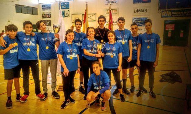 Los alumnos del IES Juan Carlos I, campeones en las categorías infantil y juvenil del Torneo Regional de bádminton