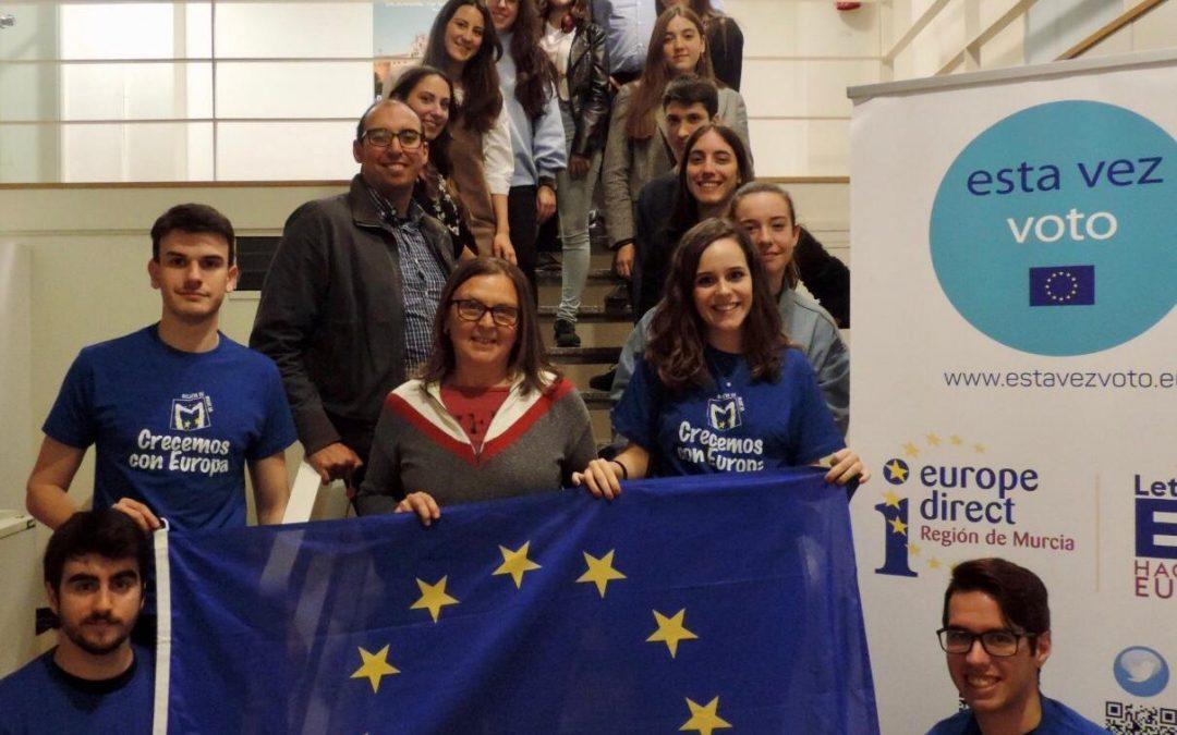 Escuelas Embajadoras: Diálogos sobre el futuro de Europa