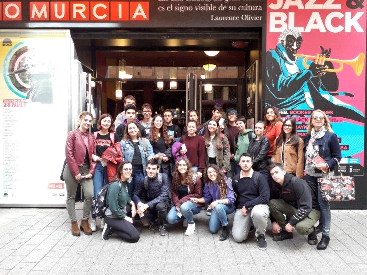 Asistencia a la V Muestra de Teatro Grecolatino de Murcia