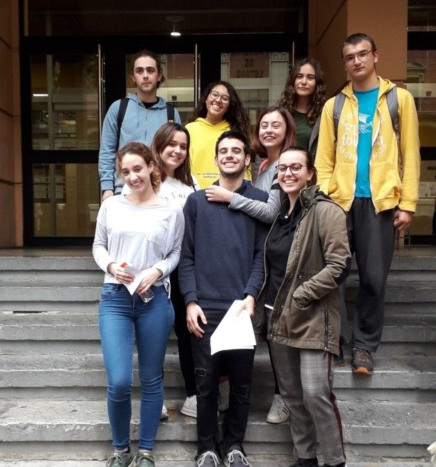 Alumnos de 2º bachillerato de Humanidades, premiados en las Olimpíadas de Latín y Griego