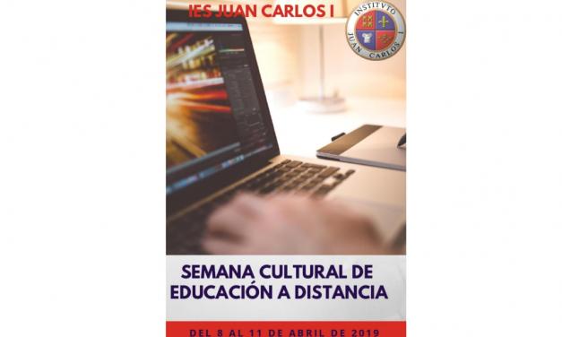 Programación de la Semana Cultural en Educación a Distancia