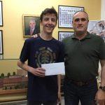 Un alumno de nuestro Centro, finalista en la fase comarcal de la XXX Olimpiada Matemática de 2º de ESO