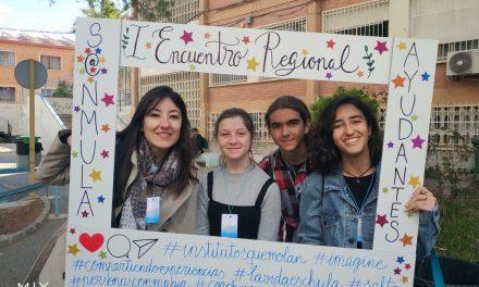 Participación en el I Encuentro Regional de Alumnos Ayudantes