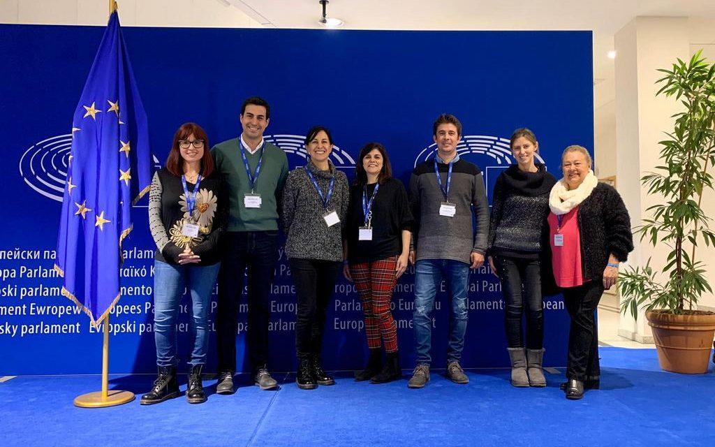 Seminario de profesores de Escuelas Embajadoras del Parlamento Europeo