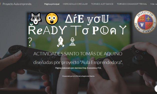 """Proyecto """"Aula emprende"""" – Economía y FOL, Sto Tomás 2020"""