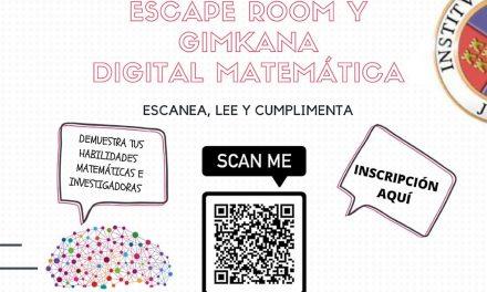 Escape Room y Gimkana Digital Matemática, Sto Tomás 2020