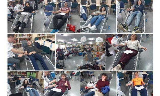 «Gotas de vida»: Donación de sangre en el IES Juan Carlos I