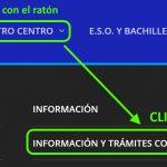 INFORMACIÓN y TRÁMITES COVID-19: nueva entrada del Menú para familias