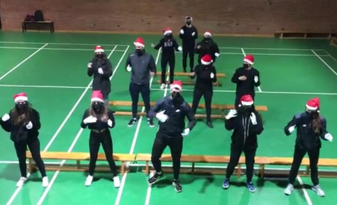 Video de felicitación de Navidad, por alumnado del ciclo EASO