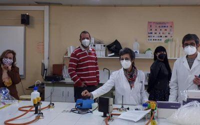 Departamento de Química: proyecto «La fina hebra que nos une»
