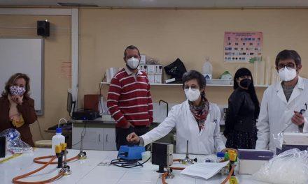 """Departamento de Química: proyecto """"La fina hebra que nos une"""""""