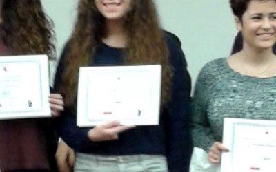 Alumna finalista en III Olimpíada de Filosofía