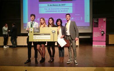 """Ganadores del primer premio en el concurso """"Imagina una empresa diferente"""" – 2017"""