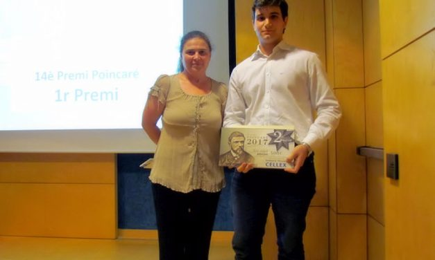 Pablo Nicolás Martínez, 2º Premio Poincaré 2017 sobre investigación matemática