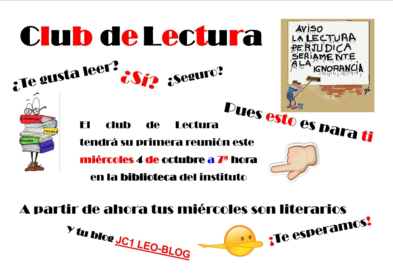 Club de Lectura 2017-18