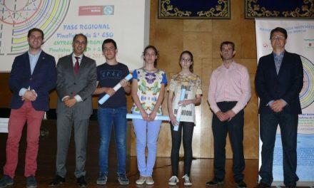 Alumna clasificada para la Fase Nacional de la XXVIII Olimpíada Matemática de Secundaria