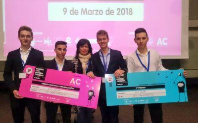 """Premios en el concurso """"Imagina una empresa diferente"""" – 2018"""