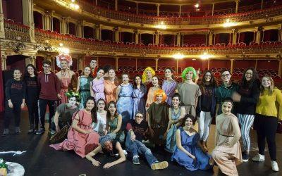 Asistencia a la IV Muestra de Teatro Grecolatino de Murcia
