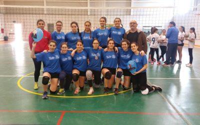 Campeonas Regionales de Vóley Femenino