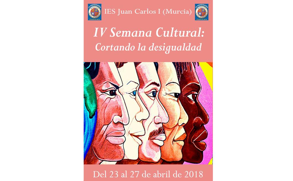 Programación de la IV Semana Cultural: Cortando la desigualdad