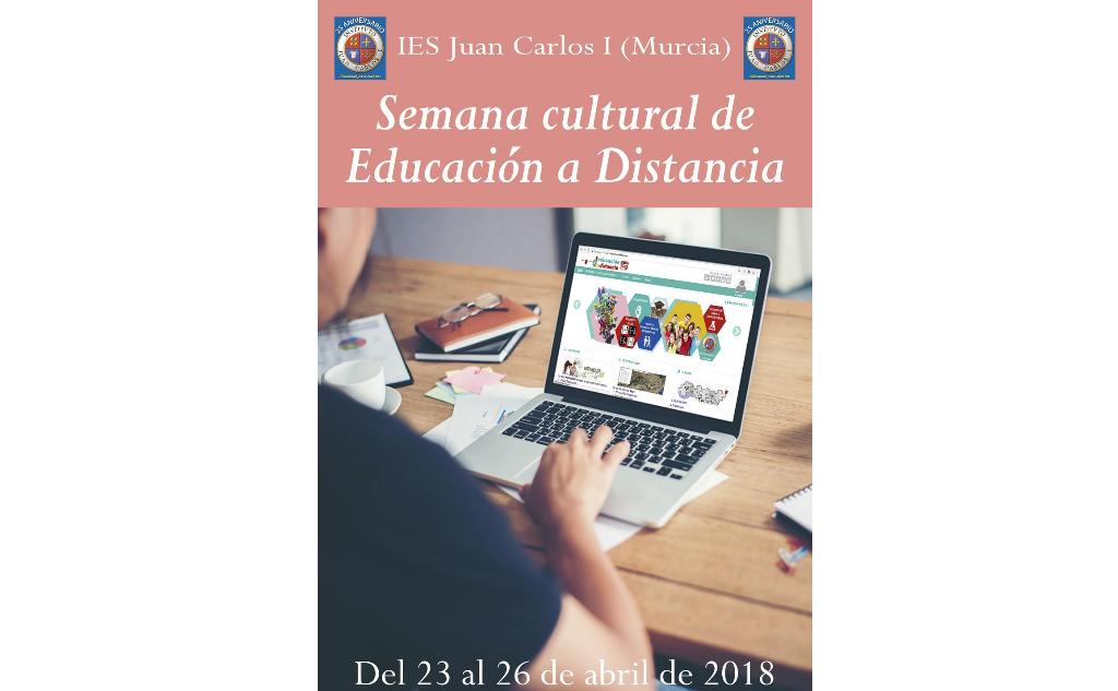 Programación de la Semana Cultural de Educación a Distancia