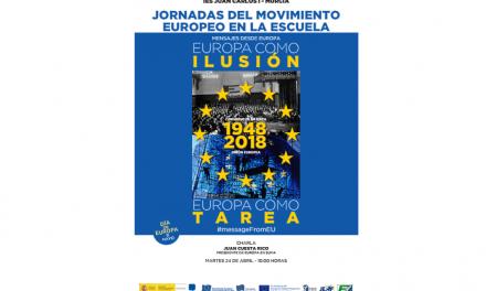 Escuelas Embajadoras: Jornada del Movimiento Europeo en la Escuela