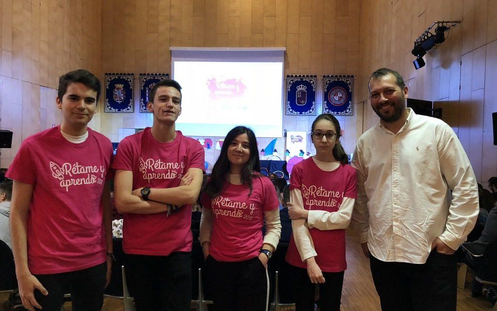 """Notable actuación de nuestros alumnos en la gran final del Concurso """"Rétame y aprendo""""-2018"""