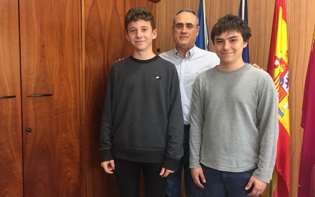 Alumnos de nuestro centro finalistas en la XXIX Olimpiada Matemática de 2º ESO