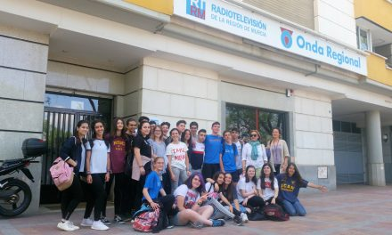 Alumnos de 3º ESO visitan Onda Regional de Murcia