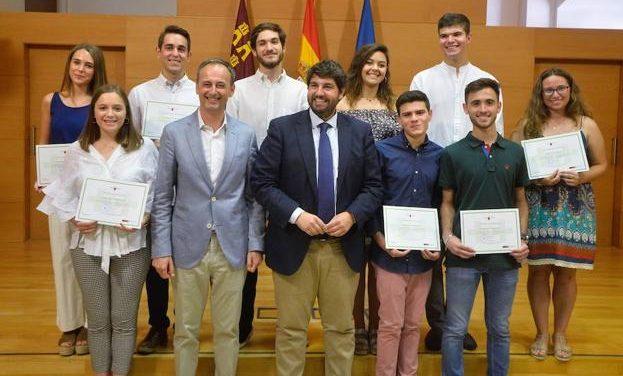 Nuestra alumna Andrea Aroca López, entre los diez alumnos de la Región de Murcia con mejor nota en la EBAU 2018