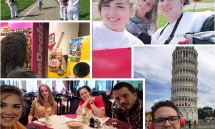 Primera semana de nuestros postitulados Erasmus +